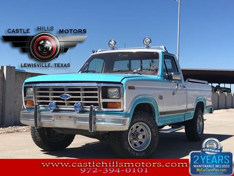 1986 Ford F-150 for sale in Lewisville, TX