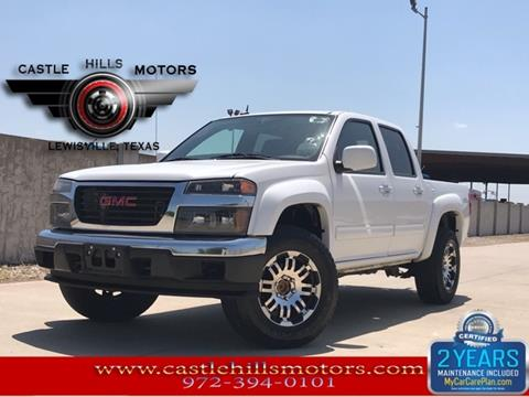 2012 GMC Canyon for sale in Lewisville, TX