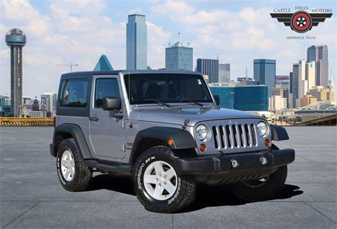 2013 Jeep Wrangler for sale in Lewisville, TX