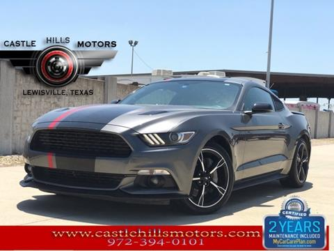 2017 Ford Mustang for sale in Lewisville, TX