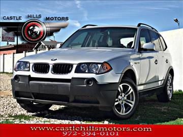 2005 BMW X3 for sale in Lewisville, TX