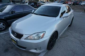2008 Lexus IS 250 for sale in Los Angeles, CA