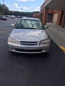 1999 Honda Accord for sale in Winder, GA