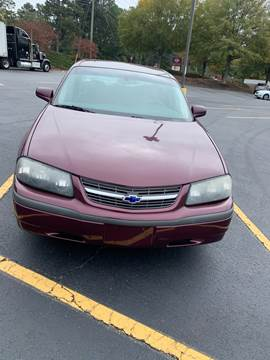 2004 Chevrolet Impala for sale in Winder, GA