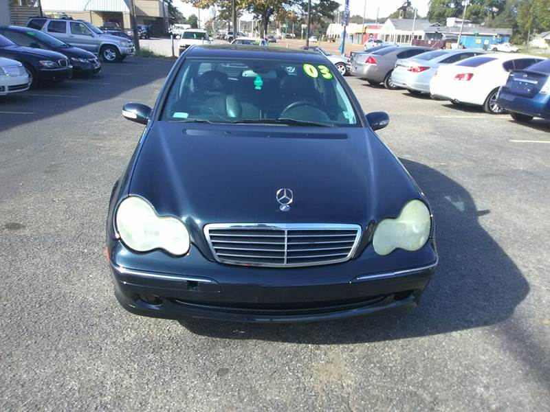 2003 Mercedes Benz C Class For Sale At Holiday City Auto Sales In Memphis