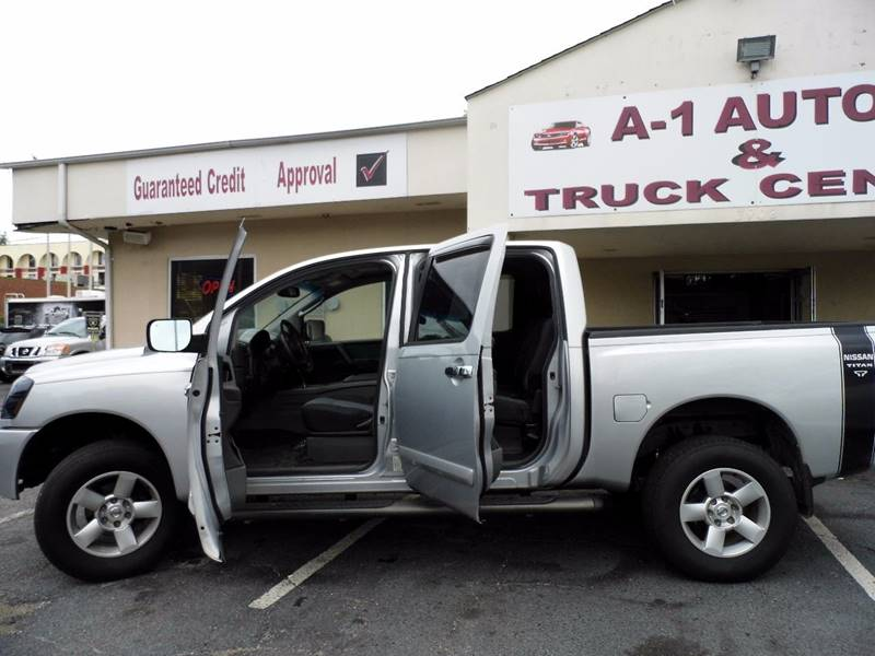 2008 Nissan Titan for sale at A-1 AUTO AND TRUCK CENTER in Memphis TN