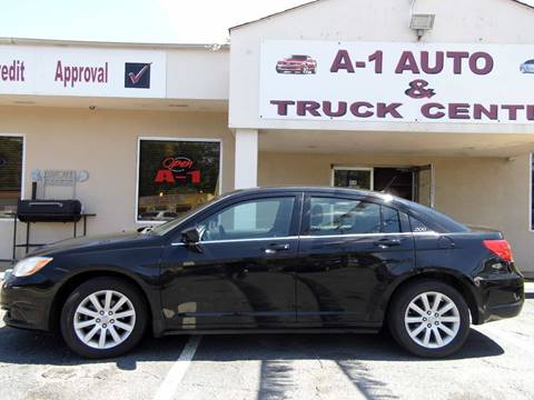 2014 Chrysler 200 for sale at A-1 AUTO AND TRUCK CENTER in Memphis TN
