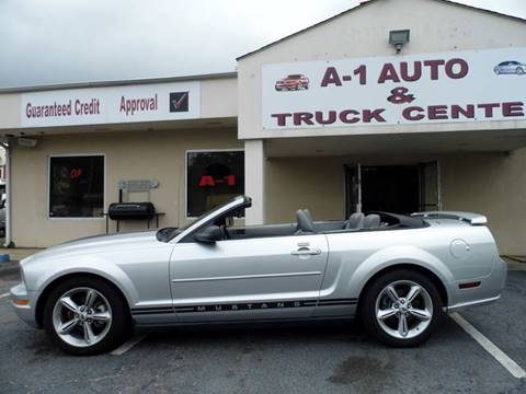 2008 Ford Mustang for sale at A-1 AUTO AND TRUCK CENTER in Memphis TN