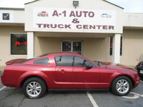 2007 Ford Mustang for sale at A-1 AUTO AND TRUCK CENTER in Memphis TN