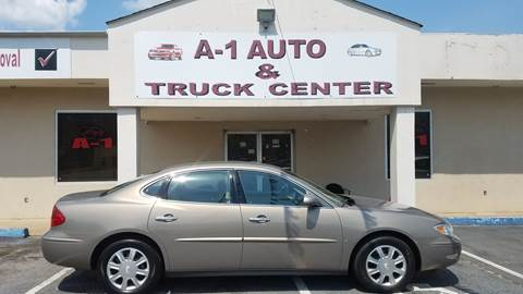 2006 Buick LaCrosse for sale at A-1 AUTO AND TRUCK CENTER in Memphis TN