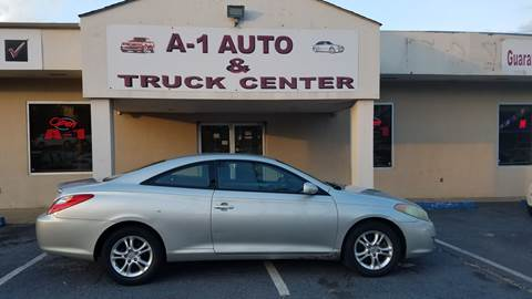 2005 Toyota Camry Solara for sale at A-1 AUTO AND TRUCK CENTER in Memphis TN