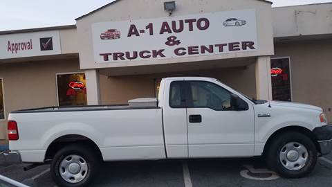 2005 Ford F-150 for sale at A-1 AUTO AND TRUCK CENTER in Memphis TN