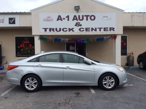 2013 Hyundai Sonata for sale at A-1 AUTO AND TRUCK CENTER in Memphis TN
