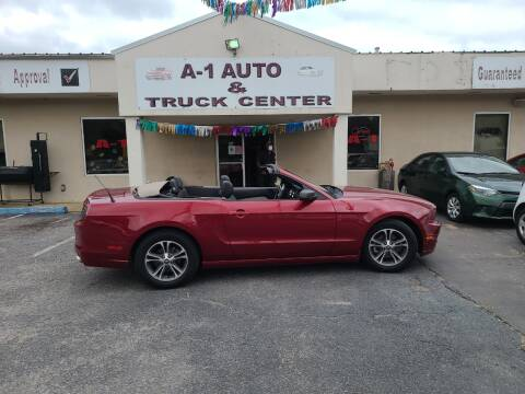 2014 Ford Mustang for sale at A-1 AUTO AND TRUCK CENTER in Memphis TN