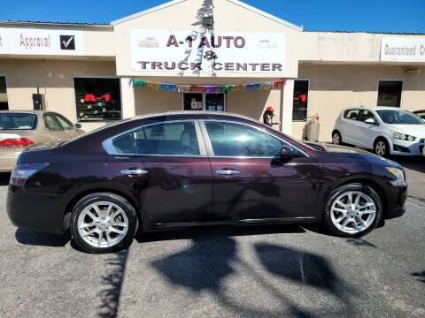 2013 Nissan Maxima for sale at A-1 AUTO AND TRUCK CENTER in Memphis TN
