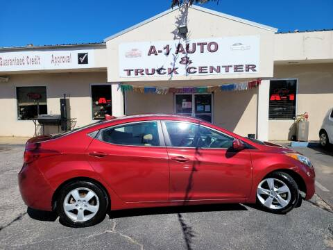 2013 Hyundai Elantra for sale at A-1 AUTO AND TRUCK CENTER in Memphis TN