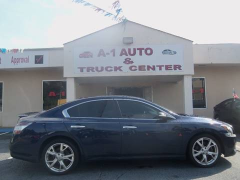 2010 Nissan Maxima for sale at A-1 AUTO AND TRUCK CENTER in Memphis TN