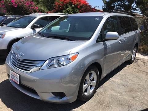 2016 Toyota Sienna for sale at Auto Emporium in Wilmington CA