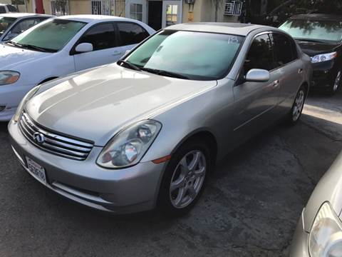 2003 Infiniti G35 for sale at Auto Emporium in Wilmington CA