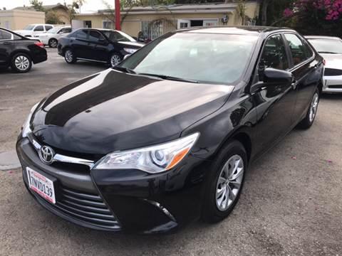 2016 Toyota Camry for sale at Auto Emporium in Wilmington CA
