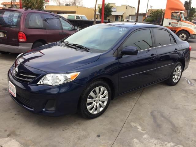 2013 Toyota Corolla for sale at Auto Emporium in Wilmington CA