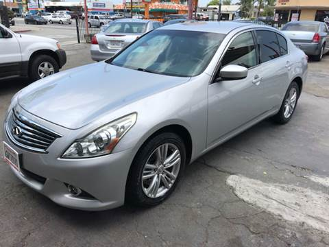 2011 Infiniti G37 Sedan for sale at Auto Emporium in Wilmington CA