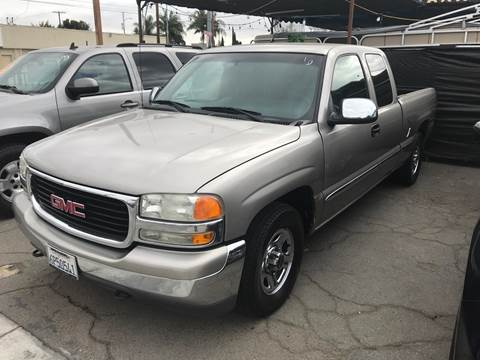 2001 GMC Sierra 1500 for sale at Auto Emporium in Wilmington CA