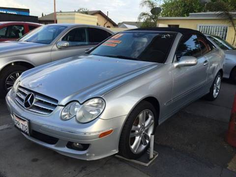 2007 Mercedes-Benz CLK for sale at Auto Emporium in Wilmington CA