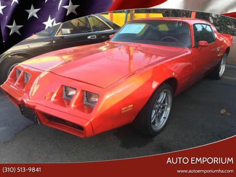 1980 Pontiac Firebird for sale at Auto Emporium in Wilmington CA