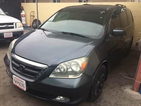 2005 Honda Odyssey for sale at Auto Emporium in Wilmington CA