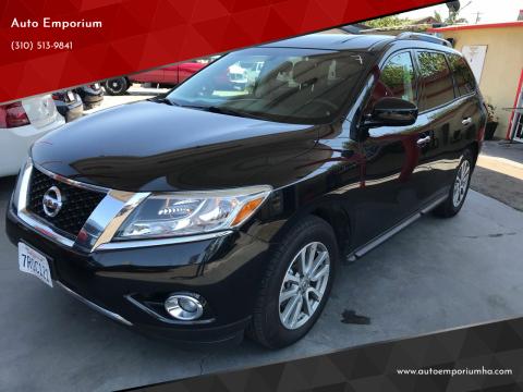 2016 Nissan Pathfinder for sale at Auto Emporium in Wilmington CA