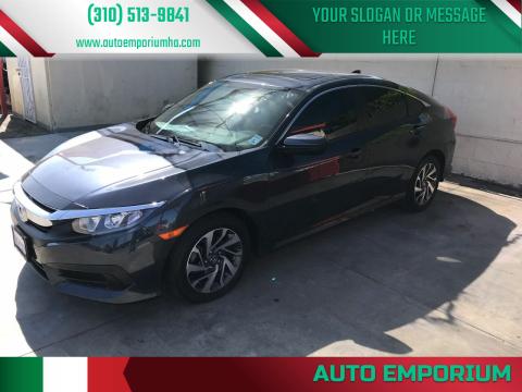 2017 Honda Civic for sale at Auto Emporium in Wilmington CA