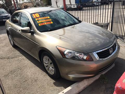 2010 Honda Accord for sale at Auto Emporium in Wilmington CA