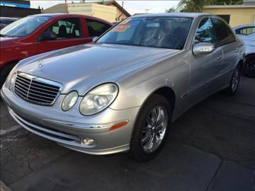 2003 Mercedes-Benz E-Class for sale at Auto Emporium in Wilmington CA