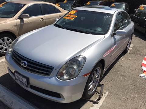 2006 Infiniti G35 for sale at Auto Emporium in Wilmington CA