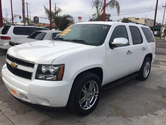 2012 Chevrolet Tahoe for sale at Auto Emporium in Wilmington CA