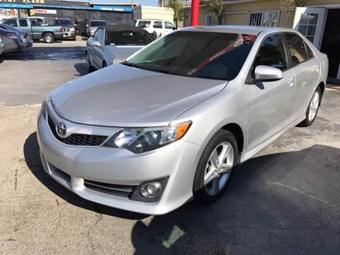 2013 Toyota Camry for sale at Auto Emporium in Wilmington CA