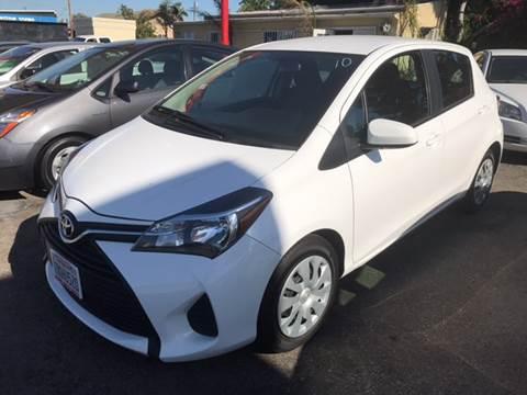 2015 Toyota Yaris for sale at Auto Emporium in Wilmington CA