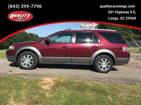 2008 Ford Taurus X for sale in Longs, SC