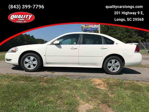 2009 Chevrolet Impala for sale in Longs, SC