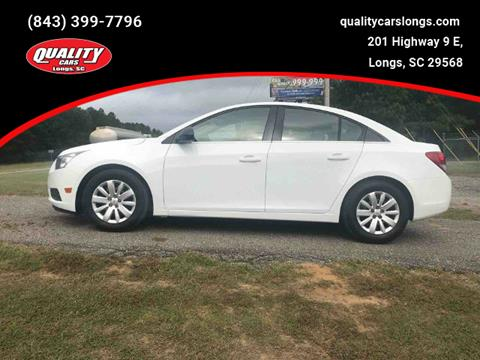 2011 Chevrolet Cruze for sale in Longs, SC