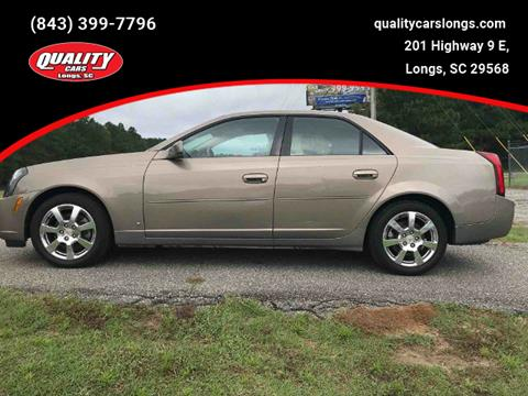 2007 Cadillac CTS for sale in Longs, SC