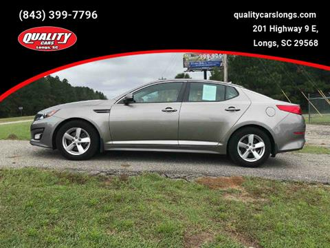 2014 Kia Optima for sale in Longs, SC