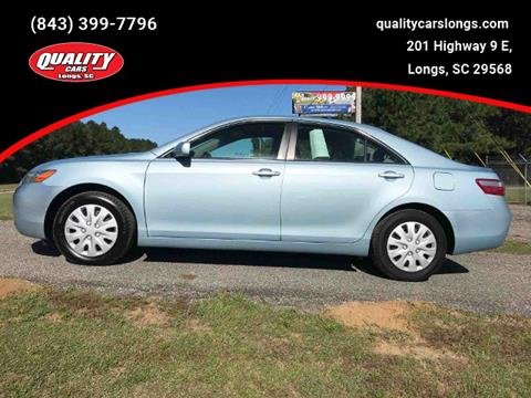 2007 Toyota Camry for sale in Longs, SC