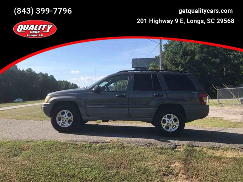 1999 Jeep Grand Cherokee For Sale At Quality Cars In Longs SC