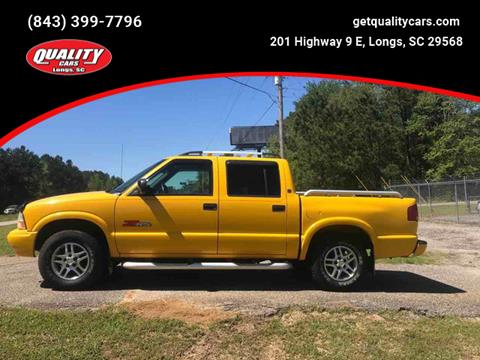 2003 GMC Sonoma for sale in Longs, SC