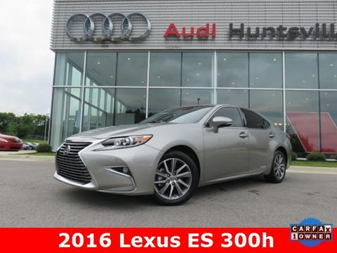 2016 Lexus ES 300h for sale in Huntsville, AL