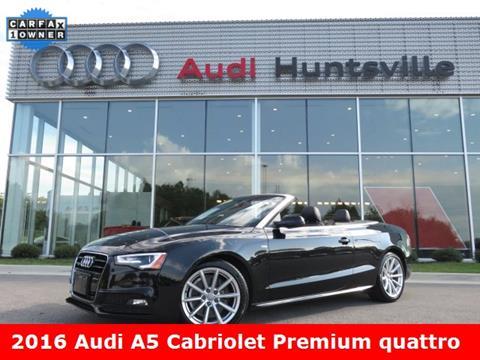 2016 Audi A5 for sale in Huntsville, AL