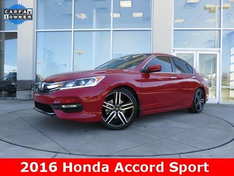 2016 Honda Accord for sale in Huntsville, AL