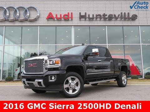 2016 GMC Sierra 2500HD for sale in Huntsville, AL